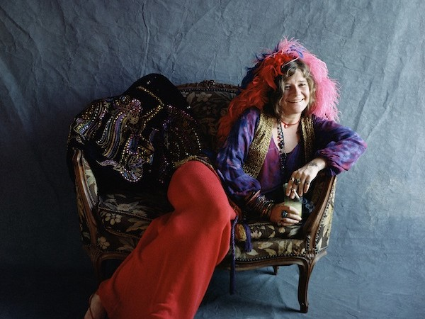 Janis Joplin, Hollywood, 1970, Cover photograph for the album Pearl
