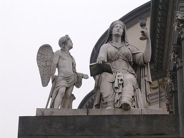 Statue della Religione e della Fede