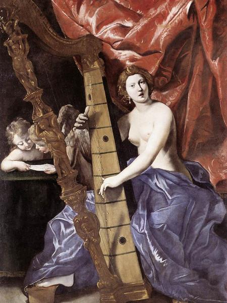 Venere suona l'Arpa (Allegoria della Musica)