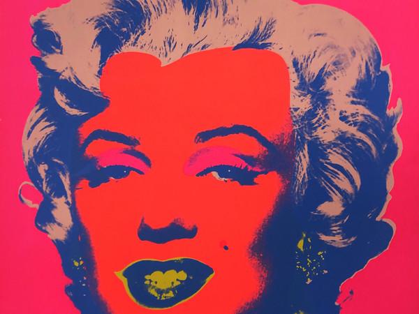 Andy Warhol, 1967, Marilyn, serigrafia a colori, 91,4x91,4 cm.