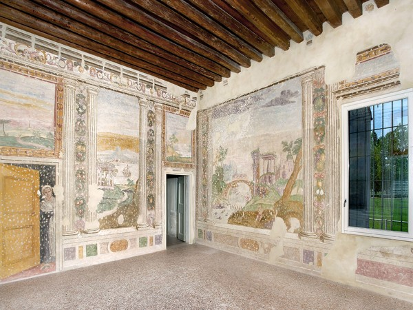 Villa Bassi Rathgeb, Abano Terme, interno