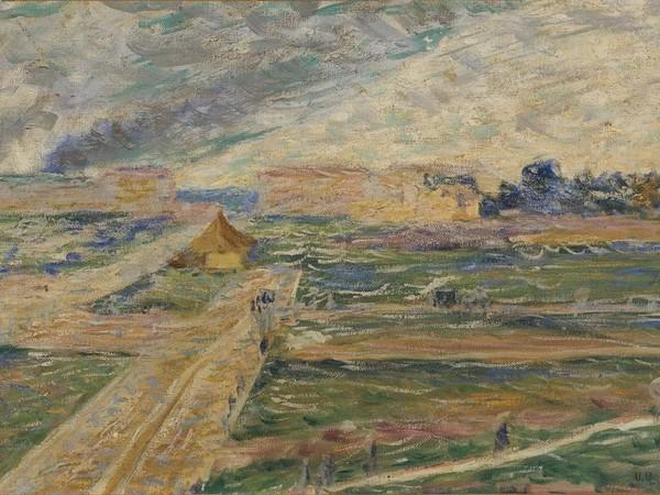Umberto Boccioni, Periferia, 1909