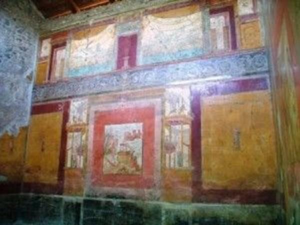 A pompei al via i lavori nella casa del ricco sirico for Foto di decorazione della casa del cottage