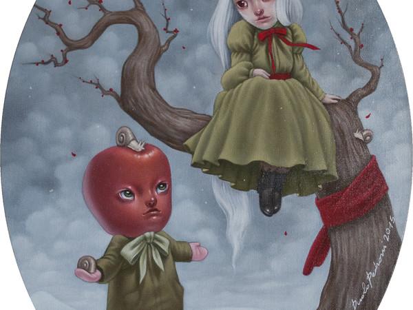 Paolo Pedroni, Just Friends, 30x40 cm, oil con canvas panel