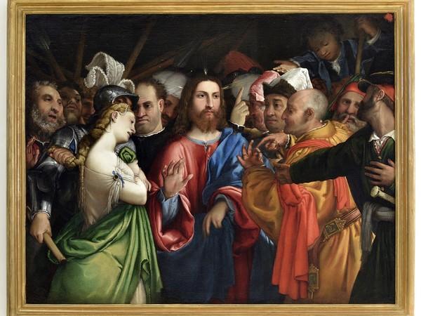 Lorenzo Lotto, Cristo e l'Adultera, Museo-Antico Tesoro della Santa Casa di Loreto