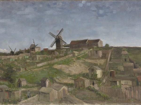 Vincent van Gogh, La Collina di Montmartre, Aprile - Maggio 1886, Otterlo Museum