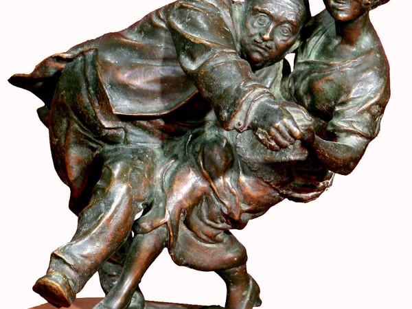 Edgardo Simone, Tango, bronzo. Brindisi, collezione  privata