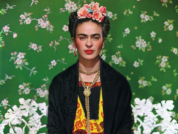 Nickolas Muray, <em>Frida Kahlo on White Bench</em>,1939 | © Nickolas Muray Photo Archive
