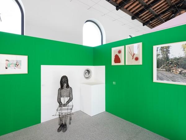 Back_Up. Giovane arte in Sardegna, veduta dell'allestimento. Museo Nivola, Orani (NU)