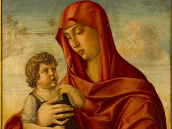 Giovanni Bellini, Madonna col Bambino, Tempera su tavola, cm 83x62,5.