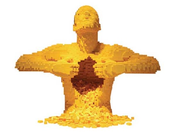 Nathan Sawaya. The Art of the Brick