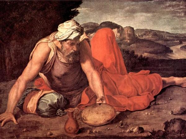Daniele da Volterra, Il profeta Elia, 1550-1560 ca. Casa Pannocchieschi d'Elci, Siena