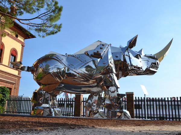 Li-Jen Shih, King Kong Rhino, Giardino della Marinaressa, Venezia