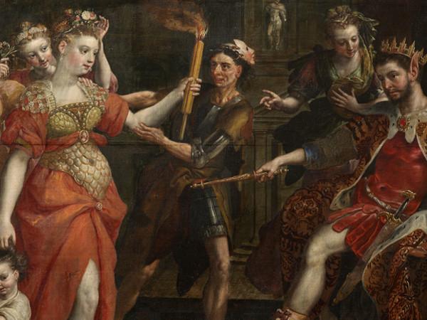 Maerten de Vos, <em>La Calunnia di Apelle</em>, Collezione privata, In prestito alla Rubenshuis, Anversa