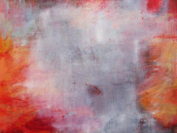 Eliana Prosperi, Attraversando c'è vita, 2016, acrilico, cm. 100x100