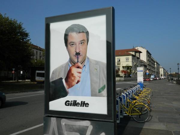 Andrea Villa, Gillette - Matteo Salvini