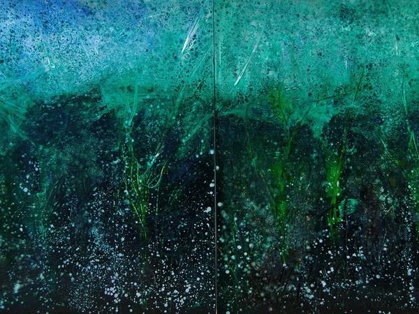 Reiner Heidorn, Lakeplants, 200 x 340 cm.