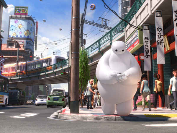 Big Hero 6. Directed by/diretto da Don Hall, 2014