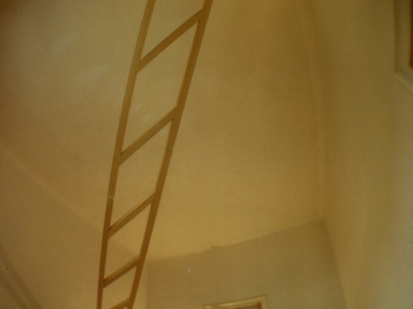 Marco Bagnoli. La Voce. Nel giallo faremo una scala o due al bianco invisibile, 1975