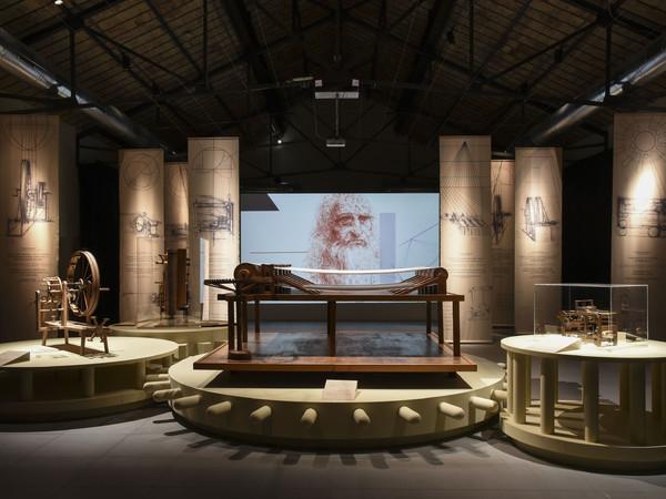 Leonardo da Vinci, l'Ingegno, il Tessuto, Museo del Tessuto, Prato