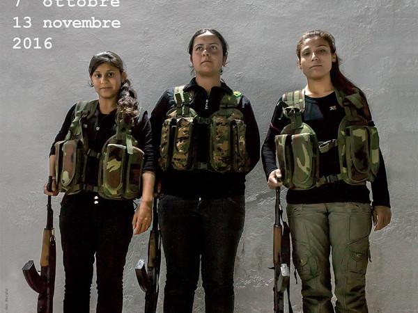In prima linea. Donne fotoreporter in luoghi di guerra, Palazzo Madama, Torino