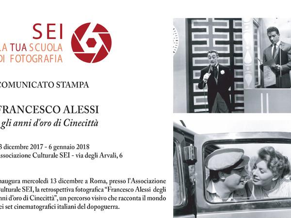 Francesco Alessi e gli anni d'oro di Cinecittà, Associazione CulturaleSEI, Roma