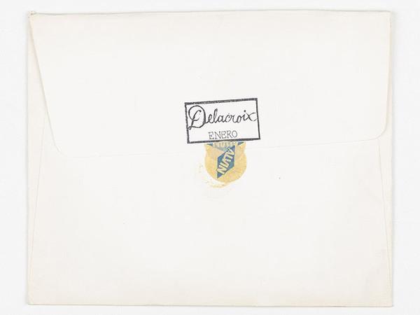 José Antonio Suárez Londoño, 'The Journal of Eugène Delacroix', 1999, detail, ink, watercolor, gouache, pencil on paper, wooden frame, glass, 12 frames, 80 x 120 x 6 cm. each. Photo by: Miguel Suárez Londoño