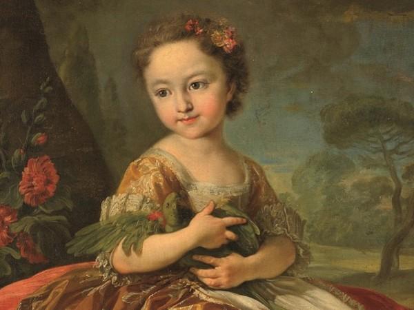 Louis Michel Van Loo. Le tre principessine di Casa Savoia, Museo di Arti Decorative della Fondazione Accorsi Ometto, Torino