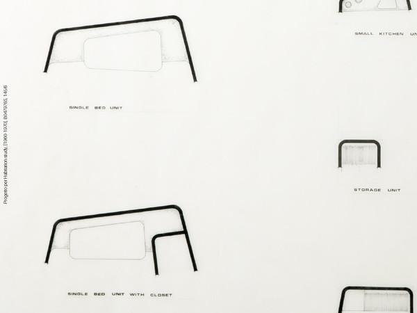 Leonardo Ricci, Progetto per Habitation study (1960-1970), B047976S, 145/6