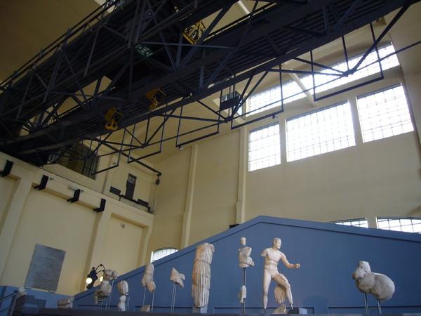 Frontone del Tempio di Apollo Sosiano