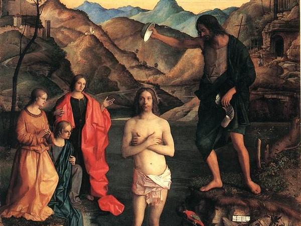 Risultati immagini per bellini battesimo santa corona