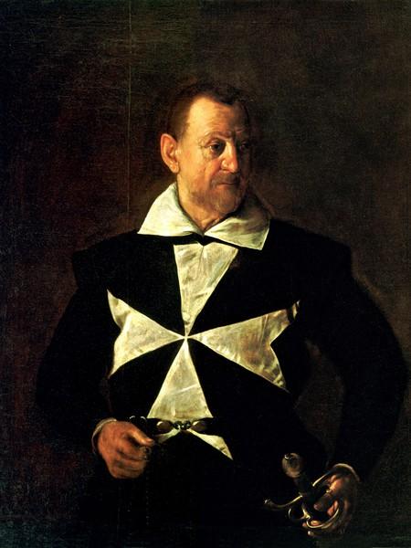 Ritratto del cavaliere di Malta Antonio Martelli