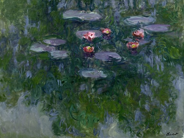Claude Monet, <em>Nymphéa</em>s, 1916-1919