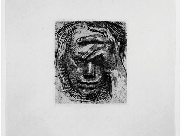 Kathe Kollwitz, Selbstbildnis, 1910, Radierung