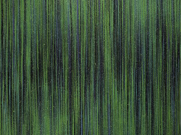 Luca Macauda, Testa di Pisma, 2017, pastello morbido, acrilico su tela, cm. 135x135