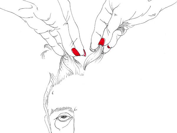 Alvise Bittente, Nerone, ovvero l'irregolarità della frangetta, Illustrazione per il libro Teatri d'amore, Capitolo