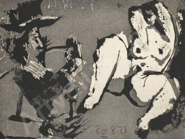 Pablo Picasso, <em>La Celestine</em>, Particolare, Incisione<br />