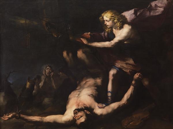 Luca Giordano, <em>Apollo e Marsia</em>, 1657