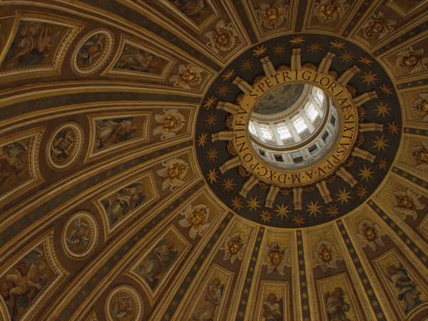 San pietro e le basiliche papali di roma 3d al cinema con for Interno san pietro