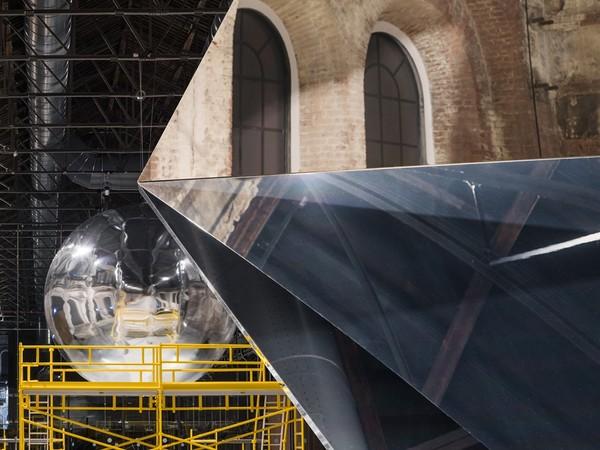 Trevor Paglen, Unseen Stars, 2020. Installation view at OGR Torino I Ph. Melania Dalle Grave di DSL Studio