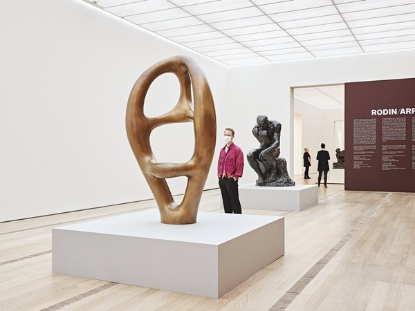 Rodin/Arp, Fondation Beyeler, Basilea