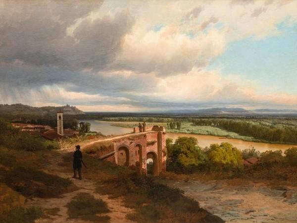 Pietro Sassi, Il temporale si avanza sulla pianura di Alessandria, 1871