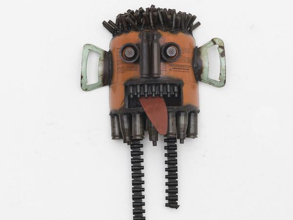 Gonçalo Mabunda, Untitled (Mask), 2018-2019, Mixed media | Foto: Nicola Gnesi.