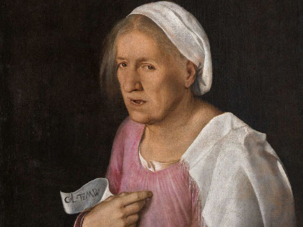 La Vecchia di Giorgione, 1500-1510. Olio sul tela