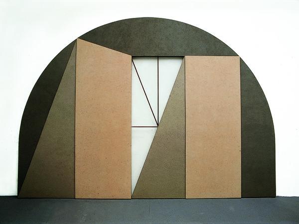 Giuseppe Uncini. Le Dimore Galleria Claudio Poleschi Arte Contemporanea di Lucca 2016
