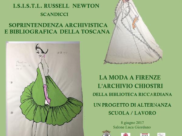 La moda a Firenze: l'Archivio Chiostri della Biblioteca Riccardiana