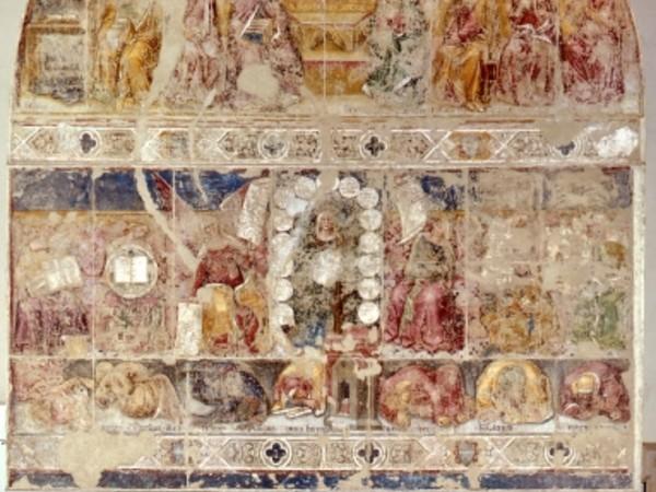 Pigmenti, muri e pittura ad affresco, Pinacoteca Nazionale di Ferrara