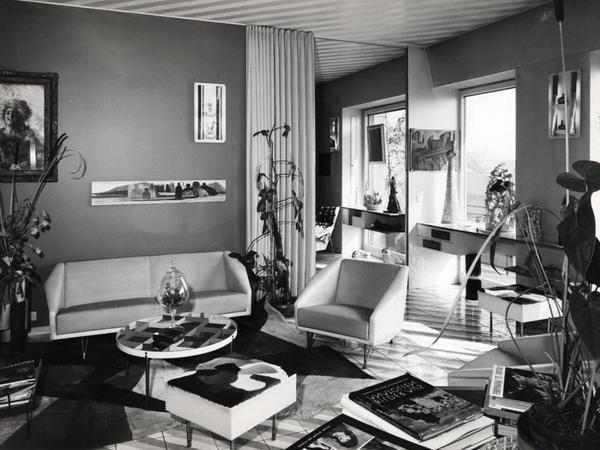 ivere alla Ponti. Esperimenti di vita domestica e architetture per l'abitare, dalle case agli uffici. Una storia di design