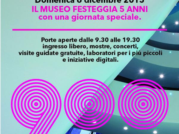 Buon Compleanno Museo del Novecento!, Milano