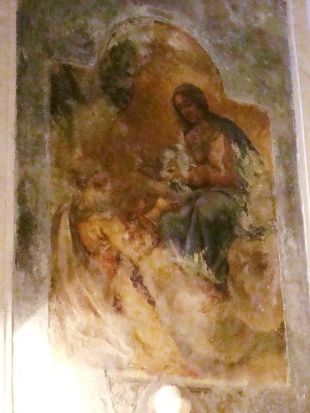 La Vergine che incorona Santa Brigida